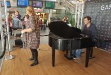 LA VOIX LACTEE en concert! Gare Lille Europe
