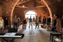 Stage de chant Août 2021 à Millau (sud de la France).